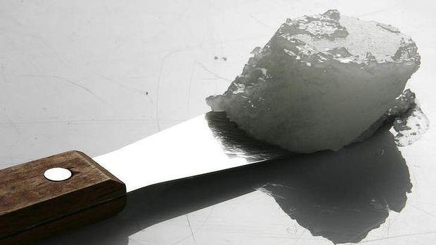 aceite de coco cuchillo