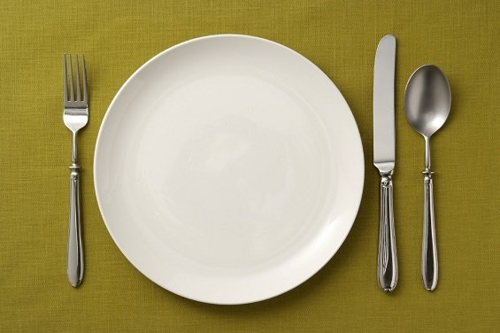 plato-vacio