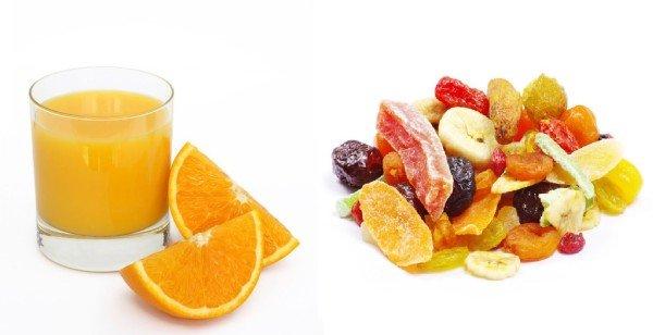 zumo-de-fruta-frutas-secas