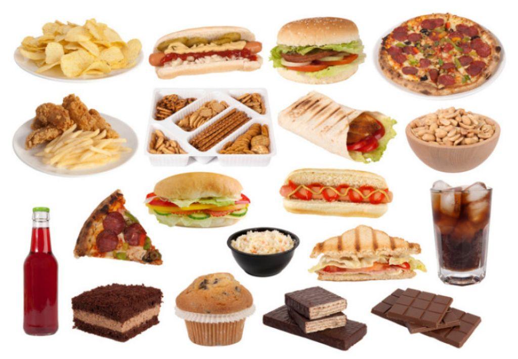 Alimentos con alto contenido de grasas trans