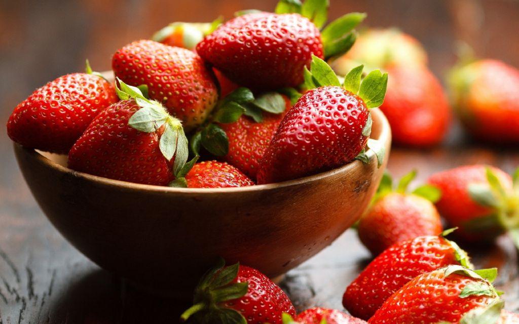monton-fresas