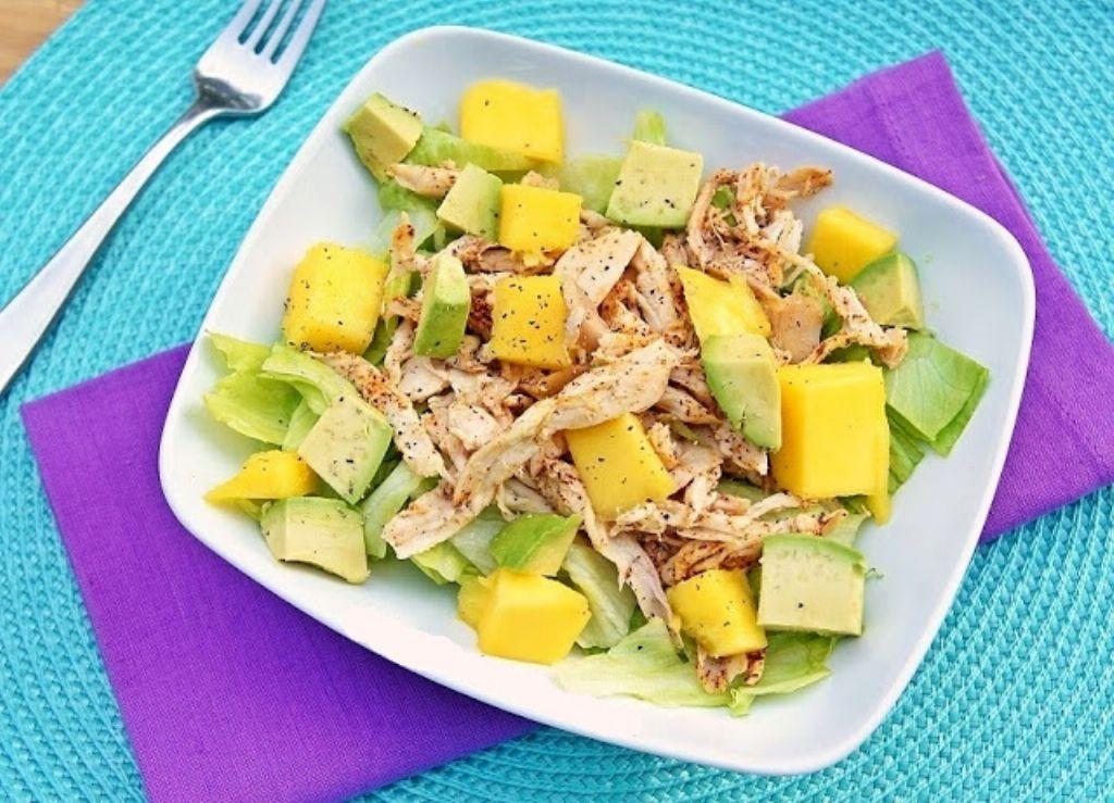 ensalada-pollo-mango