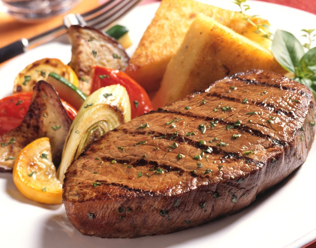 carne verduras