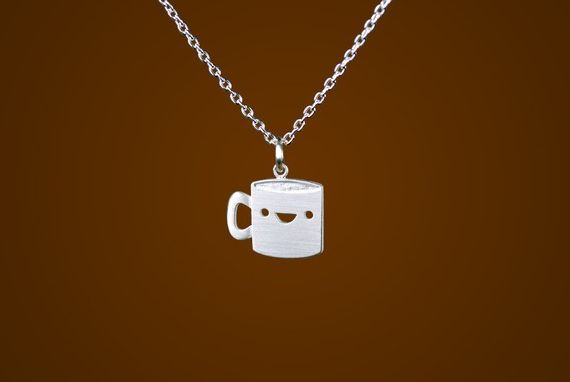 collar taza de cafe