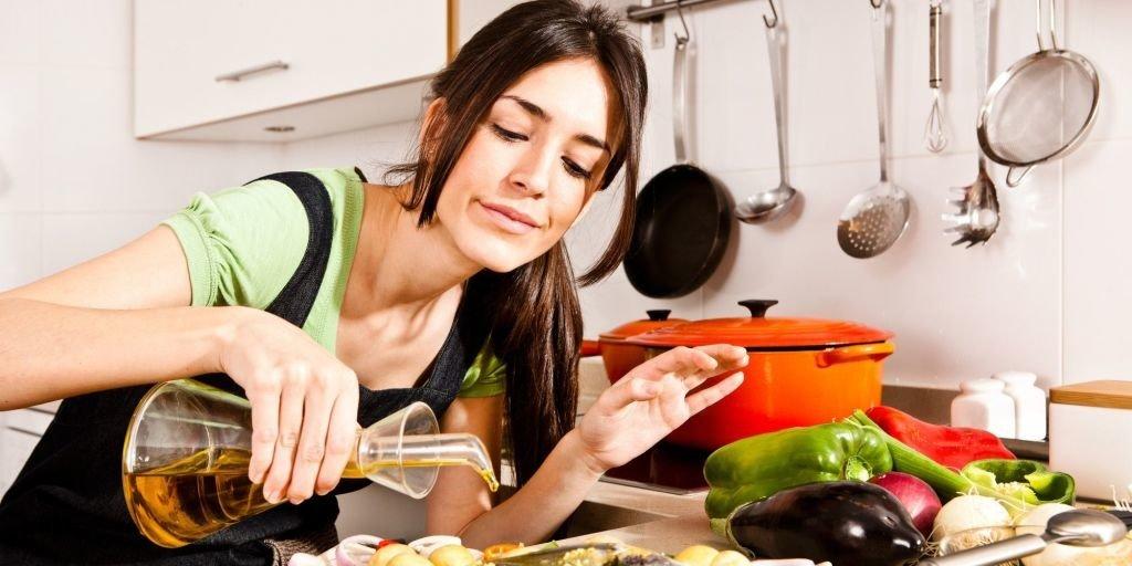 aceite de oliva cocina