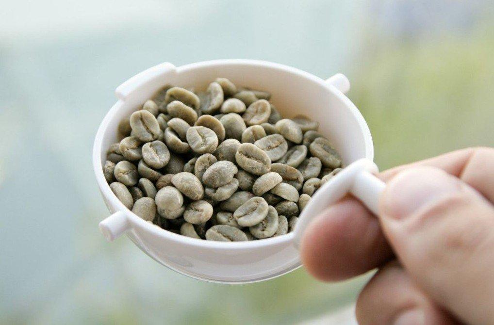 pocillo café verde