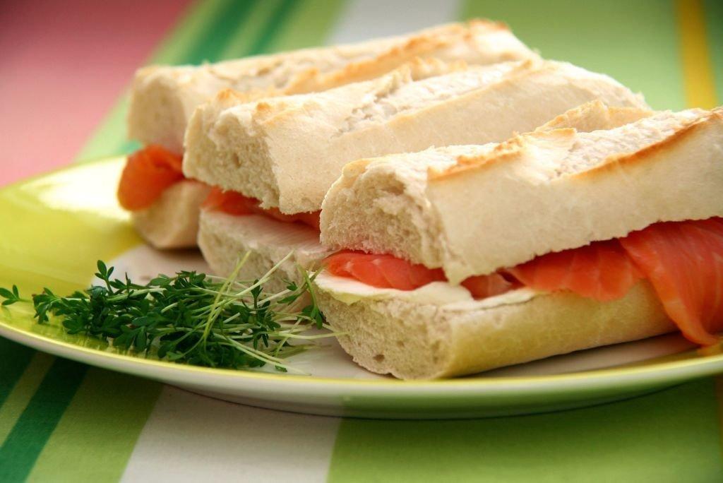 sandwiches baguette