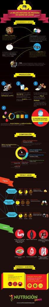 infografia proteina suero de leche
