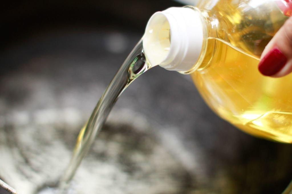 aceite botella
