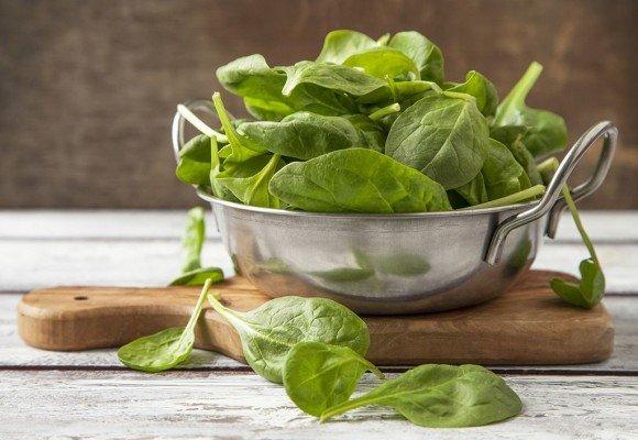 , 4 propiedades saludables de las espinacas científicamente probadas