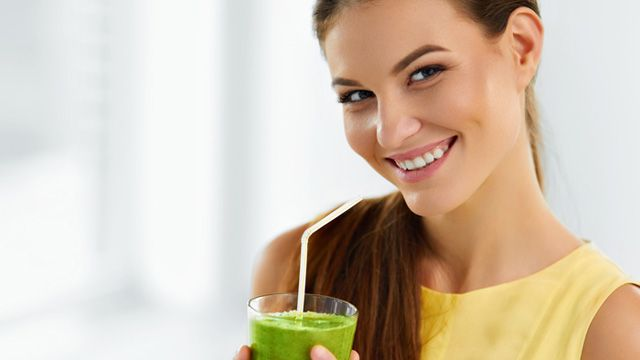 Beneficios para la salud de los batidos verdes