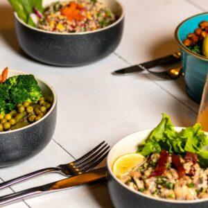 8 Consejos para reducir las porciones de alimentos sin aumentar el hambre