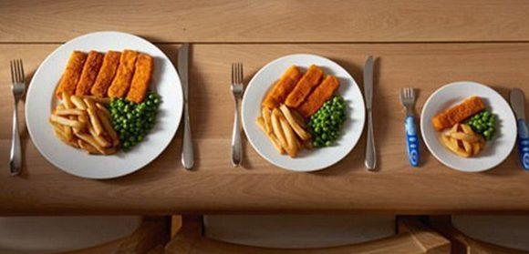 , 8 Consejos para reducir las porciones de alimentos sin aumentar el hambre