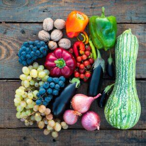 ¿Cuál es la diferencia entre las frutas y verduras?