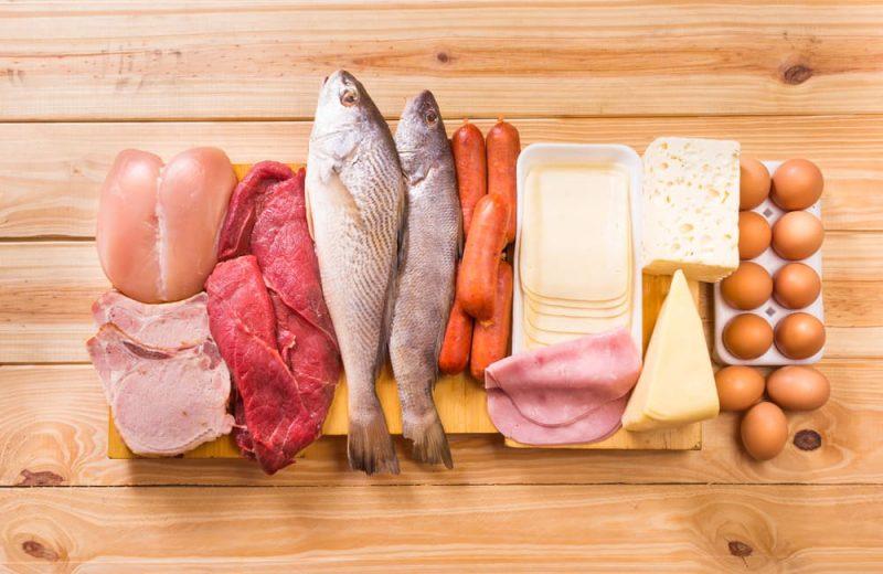 10 alimentos que son casi pura proteína