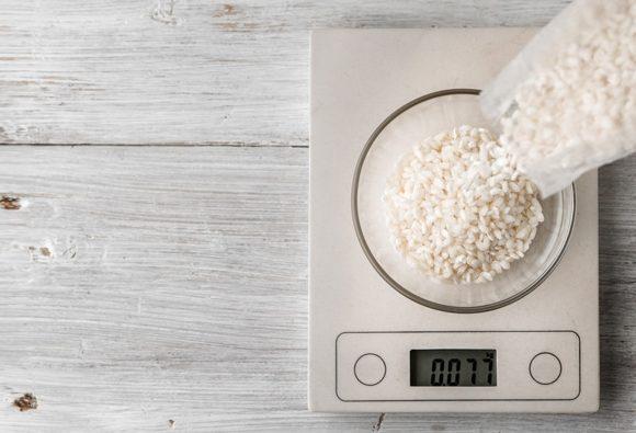 Bajar de peso comiendo arroz blanco