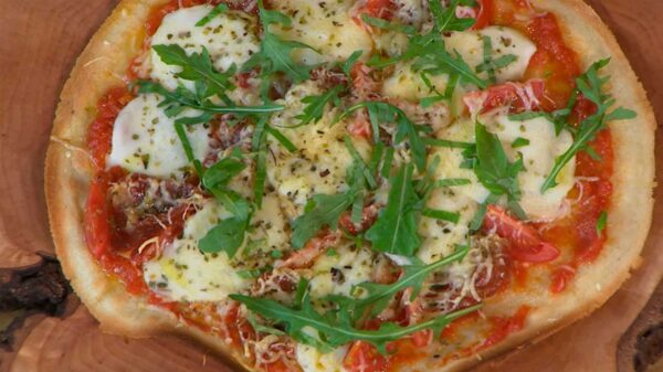 Pizza Casera Sin Gluten