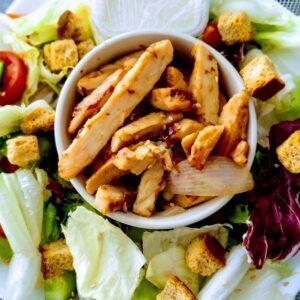 Ensalada de pollo: receta fácil y rápida