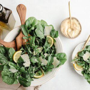 Receta de ensalada de espinaca fácil y rápida