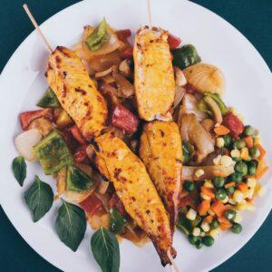 Receta de ensalada mexicana con pollo fácil y rápida