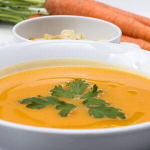 Receta de crema de zanahoria fácil y saludable