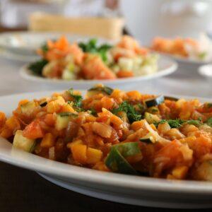 Verduras salteadas: receta fácil y saludable