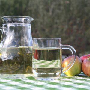 ¿Cuáles son los efectos secundarios del vinagre de manzana?