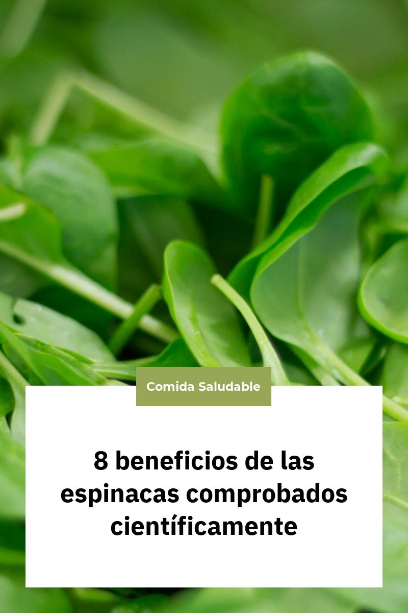 8 beneficios de las espinacas comprobados científicamente
