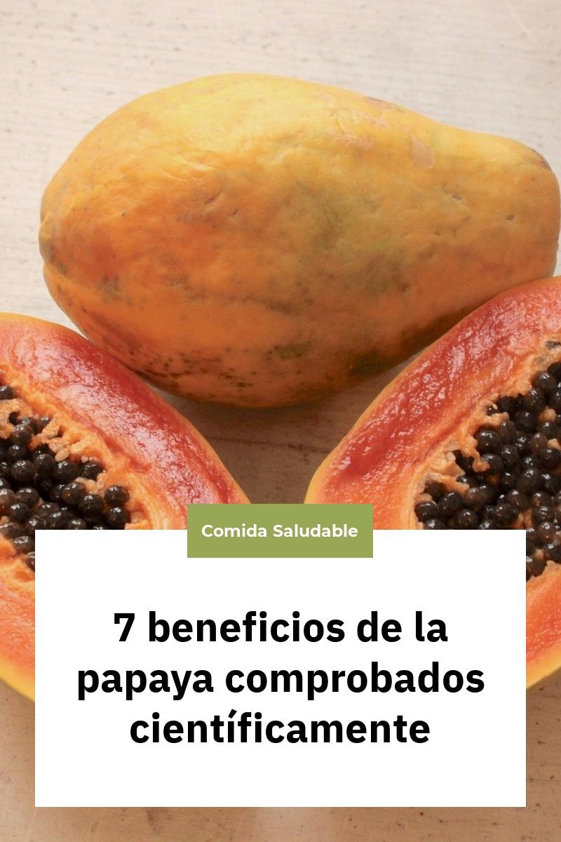7 beneficios de la papaya comprobados científicamente