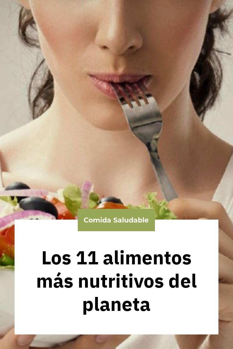 Los 11 alimentos más nutritivos del planeta