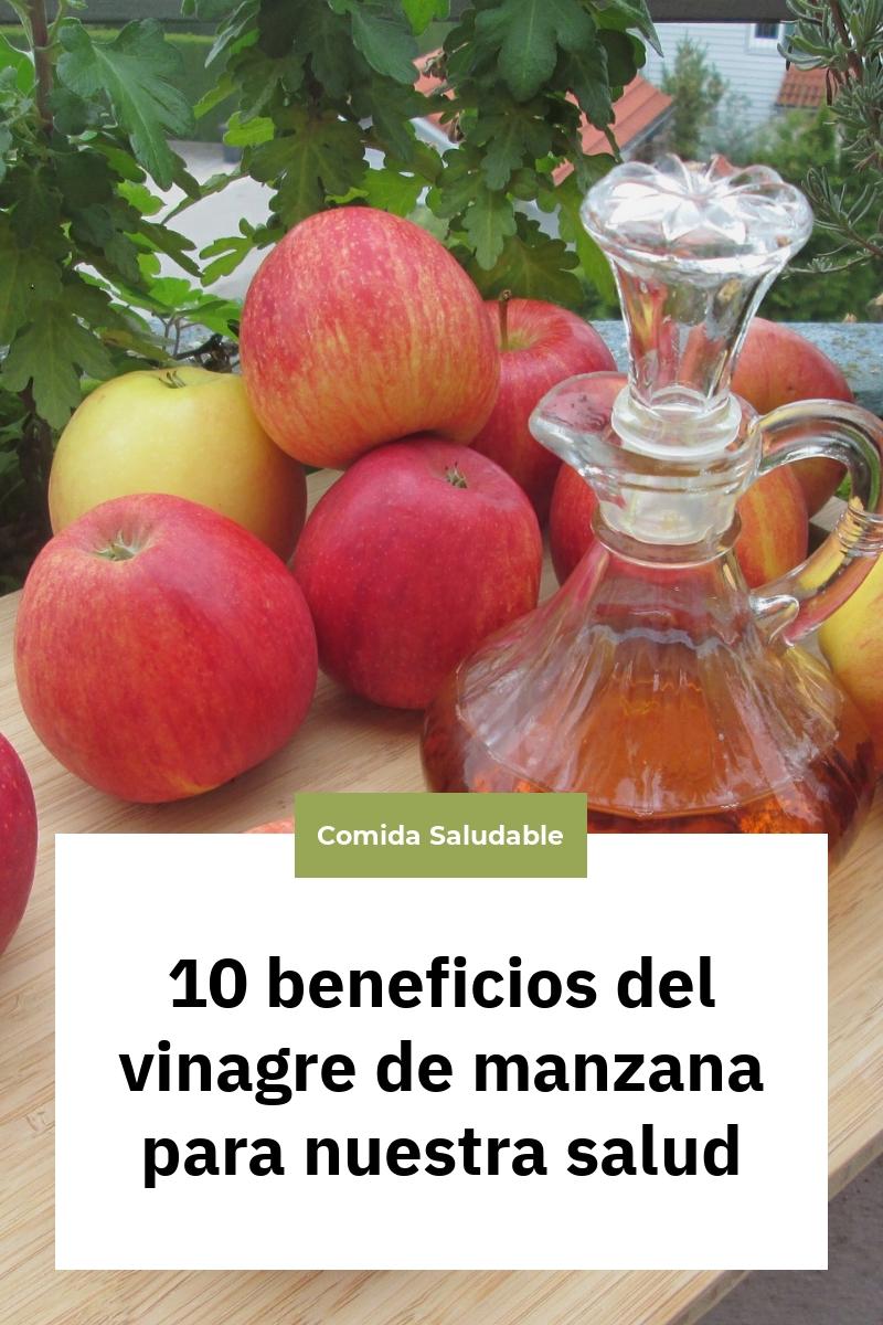 10 beneficios del vinagre de manzana para nuestra salud
