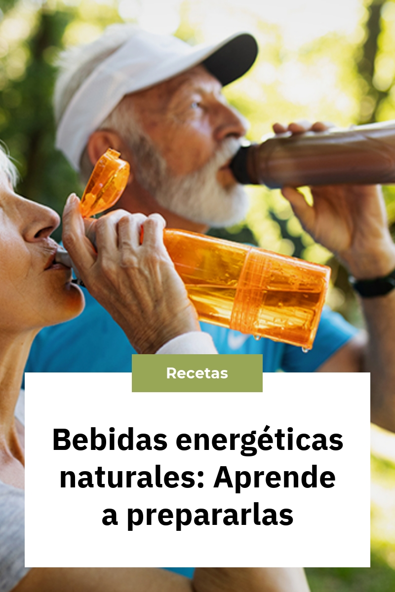 Bebidas energéticas naturales: Aprende a prepararlas