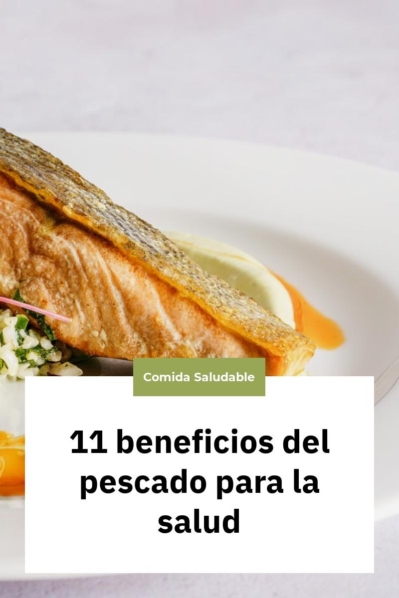 11 beneficios del pescado para la salud