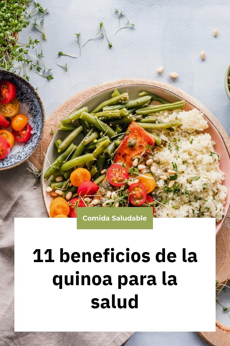 11 beneficios de la quinoa para la salud
