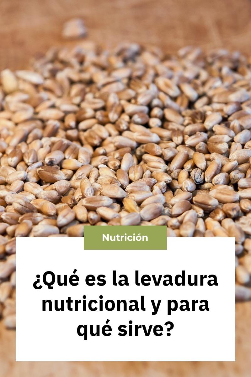 ¿Qué es la levadura nutricional y para qué sirve?