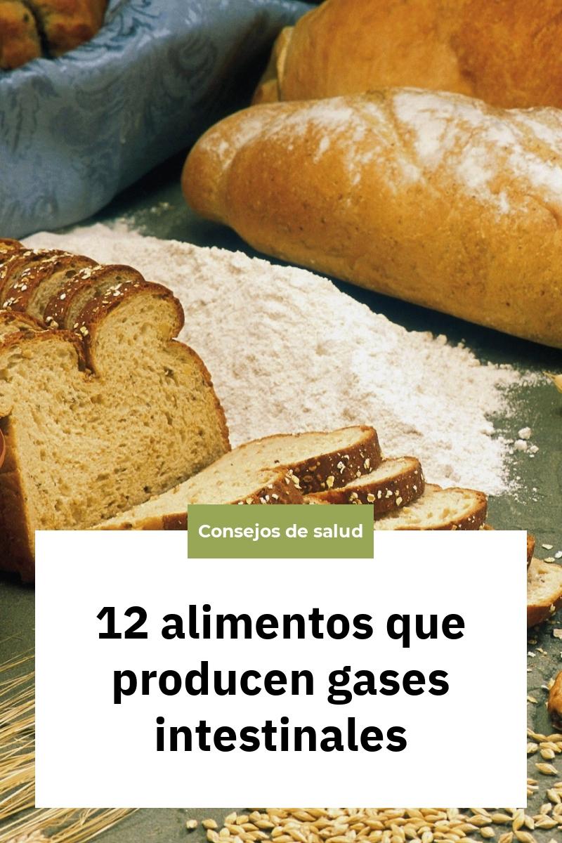 12 alimentos que producen gases intestinales