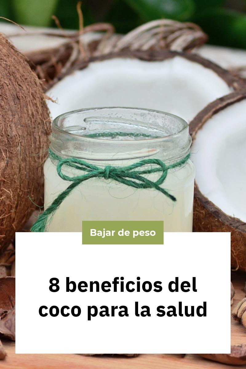 8 beneficios del coco para la salud